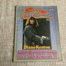 Cine: CASABLANCA Nº 22 , PAPELES DE CINE 1982 - DIANE KEATON - ALAN PARKER. Lote 176472578