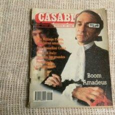 Cine: CASABLANCA Nº 47 PAPELES DE CINE, 1984 - AMADEUS MILOS FORMAN, DAVID LYNCH, NEIL JORDAN. Lote 176473325