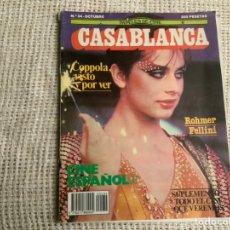 Cine: CASABLANCA Nº 34 1983 PAPELES DE CINE, COPPOLA, ROHMER, FELLINI, CINE ESPAÑOL. Lote 176473473