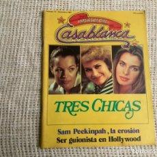 Cine: CASABLANCA Nº 12, 1981 PAPELES DE CINE, JOHN LANDIS, KEPHERA, NASTASSJA KINSKI, SAM PECKINPAH. Lote 176473587