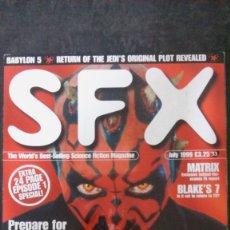 Cine: SFX Nº 53-JULIO 1999-EN INGLÉS-STAR WARS. Lote 176584707