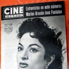 Cine: REVISTA CINE MUNDO ANTIGUA Nº279 JULIO 1957 LOLA FLORES SAN SEBASTIAN FESTIVAL MARLON BRANDO. Lote 176601283
