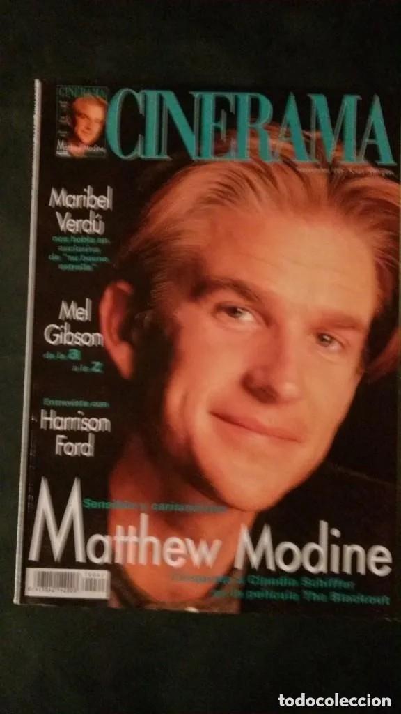 CINERAMA 61-1997-MATTHEW MODINE-DISNEY-POLLY WALKER-MARIBEL VERDÚ-HARRISON FORD-MEL GIBSON (Cine - Revistas - Cinerama)