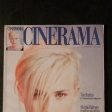 Cine: CINERAMA 55-1997-PATRICIA ARQUETTE-NICOLE KIDMAN-SANDRA BULLOCK-NANCHO NOVO-TIM BURTON. Lote 176625923