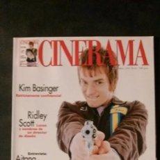 Cine: CINERAMA 63-1997-EWAN MCGREGOR-KIM BASINGER-BIGAS LUNA-RIDLEY SCOTT-JOHN LEQUIZAMO-CLAUDE CHABROL. Lote 176626049