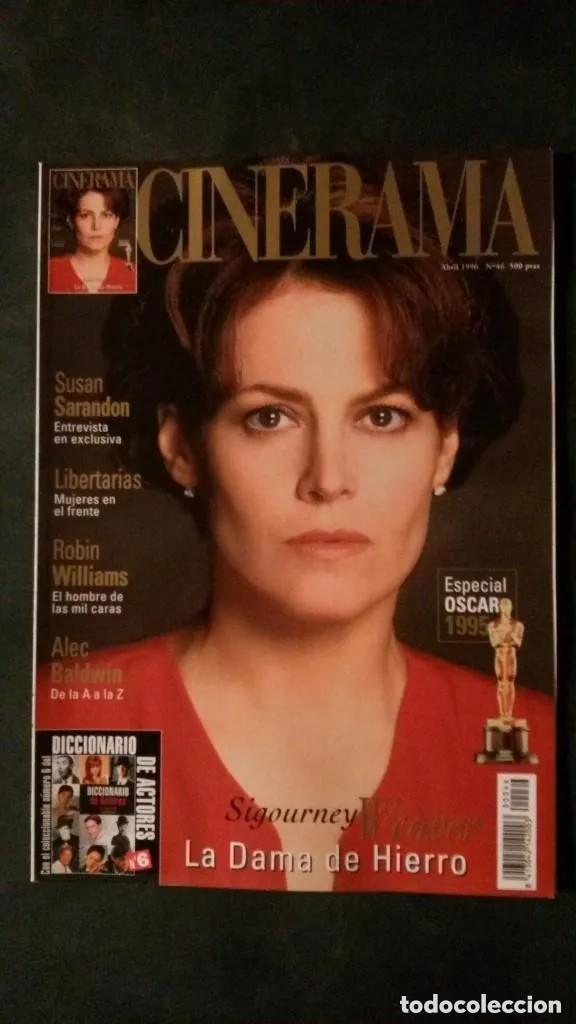 CINERAMA 46-1996-SIGOURNEY WEAVER-WILLIAM HOLDEN-VISCONTI-DEPARDIEU-SUSAN SARANDON-ALEC BALDWIN (Cine - Revistas - Cinerama)