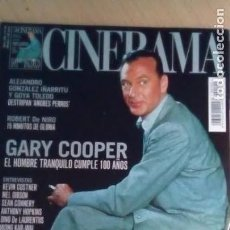 Cinema: REVISTA CINERAMA Nº 100. GARY COOPER-ROBERT DE NIRO-AMORES PERROS-MEL GIBSON. Lote 176629107