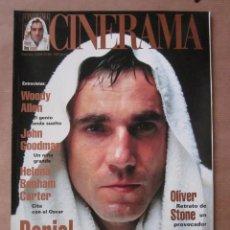 Cine: CINERAMA - NÚMERO 66 - FEBRERO 1998. DANIEL DAY LEWIS-WOODY ALLEN-JOHN GOODMAN-OLIVER STONE. Lote 176629799