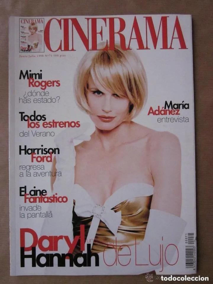 CINERAMA - NÚMERO 71 - JUNIO Y JULIO 1998 , DARYL HANNAH-MIMI ROGERS-MARIA ADANEZ (Cine - Revistas - Cinerama)