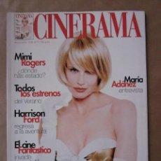 Cine: CINERAMA - NÚMERO 71 - JUNIO Y JULIO 1998 , DARYL HANNAH-MIMI ROGERS-MARIA ADANEZ. Lote 176629867