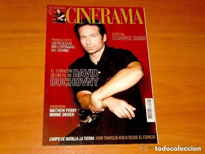 CINERAMA, NÚMERO 92. JUNIO 2000.DAVID DUCHOVNY-MATTHEW PERRY-MINNIE DRIVER (Cine - Revistas - Cinerama)