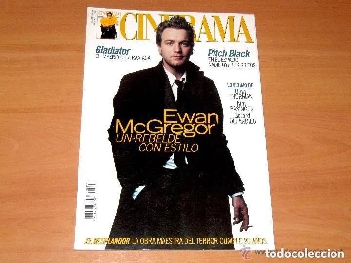 CINERAMA, NÚMERO 91. MAYO 2000. EWAN MCGREGOR-UMA THURMAN-KIM BASINGER (Cine - Revistas - Cinerama)