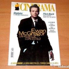 Cine: CINERAMA, NÚMERO 91. MAYO 2000. EWAN MCGREGOR-UMA THURMAN-KIM BASINGER. Lote 176630152