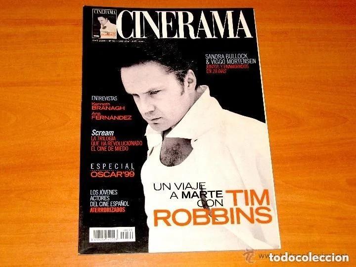 CINERAMA, NÚMERO 90. ABRIL 2000. TIM ROBBINS-VIGGO MORTENSEN-ANA FERNANDEZ (Cine - Revistas - Cinerama)