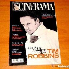 Cine: CINERAMA, NÚMERO 90. ABRIL 2000. TIM ROBBINS-VIGGO MORTENSEN-ANA FERNANDEZ. Lote 176630225