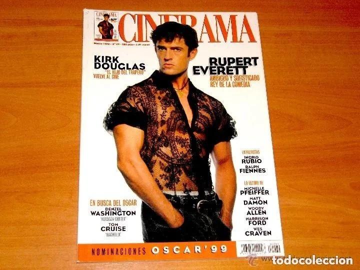 CINERAMA, NÚMERO 89. MARZO 2000. RUPERT EVERETT-KIRK DOUGLAS-INGREID RUBIO-MATT DAMON (Cine - Revistas - Cinerama)
