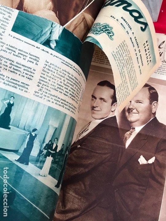 Cine: REVISTA CINEGRAMAS. PORTADA VERONICA ROSE. MAYO 1935. Nº 36. - Foto 2 - 176697993
