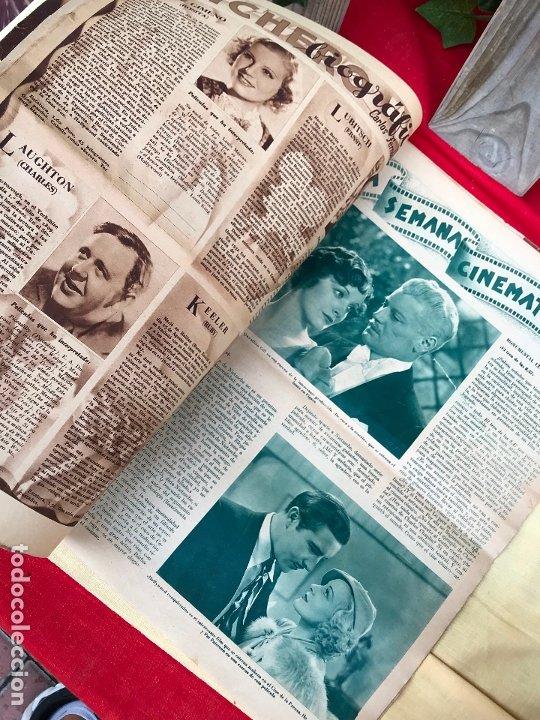 Cine: REVISTA CINEGRAMAS. PORTADA VERONICA ROSE. MAYO 1935. Nº 36. - Foto 3 - 176697993