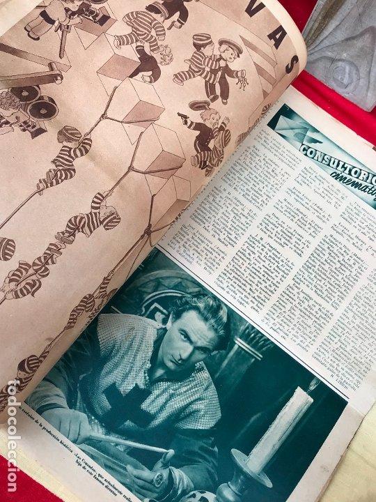 Cine: REVISTA CINEGRAMAS. PORTADA VERONICA ROSE. MAYO 1935. Nº 36. - Foto 4 - 176697993