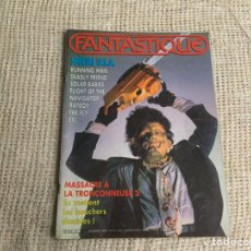 Cine: L'ÉCRAN FANTASTIQUE N° 74 1986 MASSACRE A LA TRONÇONNEUSE 2 - REVISTA DE CINE FRANCES. Lote 176768059