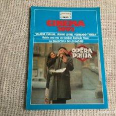 Cine: CINEMA 2002 Nº 60 VALERIO ZURLINI, FERNANDO TRUEBA . Lote 176769475