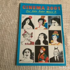 Cine: CINEMA 2002 Nº 1 DE 1983 CINE, VIDEO, TEATRO, MUSICA. Lote 176769757