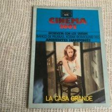 Cine: CINEMA 2002 Nº 2 ABRIL1975, LA CASA GRANDE, ENTREVISTA CON LOS TAVIANI. Lote 176775760