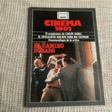 Cine: CINEMA 2002 Nº 59 ENERO 1980 EL APOCALIPSIS QUE NOS VIENE DEL VIETNAM, CARLOS SAURA. Lote 176775912