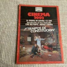 Cine: CINEMA 2002 Nº 43 SEPTIEMBRE 1978 LA GUERRA DE ESPAÑA Y EL CINE. Lote 176776074