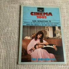 Cine: CINEMA 2002 Nº 9. NOVIEMBRE 1975. SAN SEBASTIAN 75.. Lote 176776339