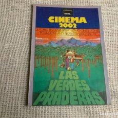 Cine: CINEMA 2002 Nº 49 MARZO 1979 LAS VERDES PRADERAS. CINE JAPONÉS. Lote 176776555