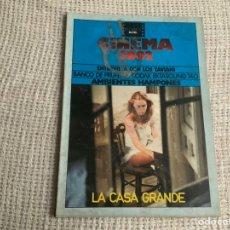 Cine: CINEMA 2002 Nº 2 ABRIL1975, LA CASA GRANDE, ENTREVISTA CON LOS TAVIANI. Lote 176776614