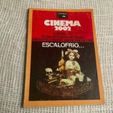 Cine: CINEMA 2002 Nº 36 FEBRERO 1978 ESCALOFRIO, II MUESTRA CANARIO-AMERICANA. Lote 176776809