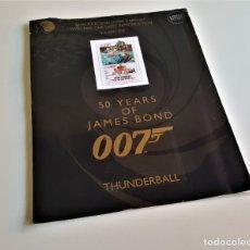 Cine: 007 JAMES BOND THUNDERBALL SEAN CONNERY COLECCION SET 9 LAMINAS 1965 - 28X36.CM APROX. Lote 186022670