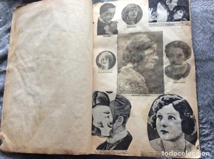 Cine: Ejemplar con recortes de revistas de las décadas de 1920 a 1930, con imágenes de artistas de cine - Foto 3 - 177174752