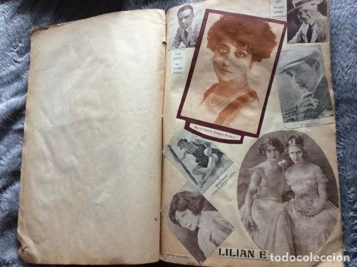 Cine: Ejemplar con recortes de revistas de las décadas de 1920 a 1930, con imágenes de artistas de cine - Foto 5 - 177174752