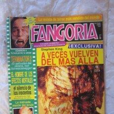 Cine: REVISTA FANGORIA Nº 1 - PRIMERA ÉPOCA - EDICIONES ZINCO-JUNIO 1991. Lote 177457815