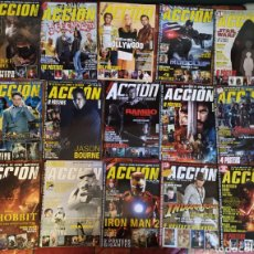 Cine: LOTE 15 REVISTAS DE CINE ACCIÓN (STAR WARS, INDIANA JONES, RAMBO, X MEN...). Lote 177072138
