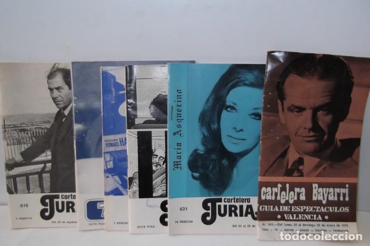 # EL CINE # CARTELERAS TURIA Y SIPE # AÑOS 1974 - 75 - 1976 # (Cine - Revistas - Cinema)