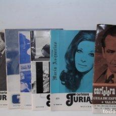 Cine: # EL CINE # CARTELERAS TURIA Y SIPE # AÑOS 1974 - 75 - 1976 #. Lote 177639022