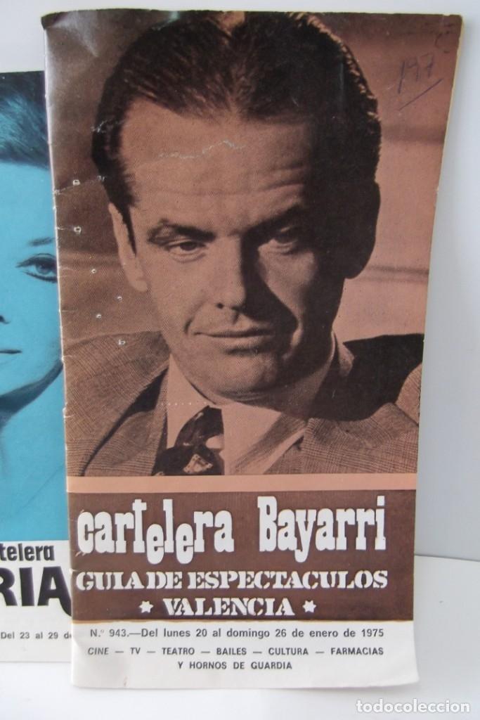 Cine: # EL CINE # CARTELERAS TURIA Y SIPE # AÑOS 1974 - 75 - 1976 # - Foto 3 - 177639022