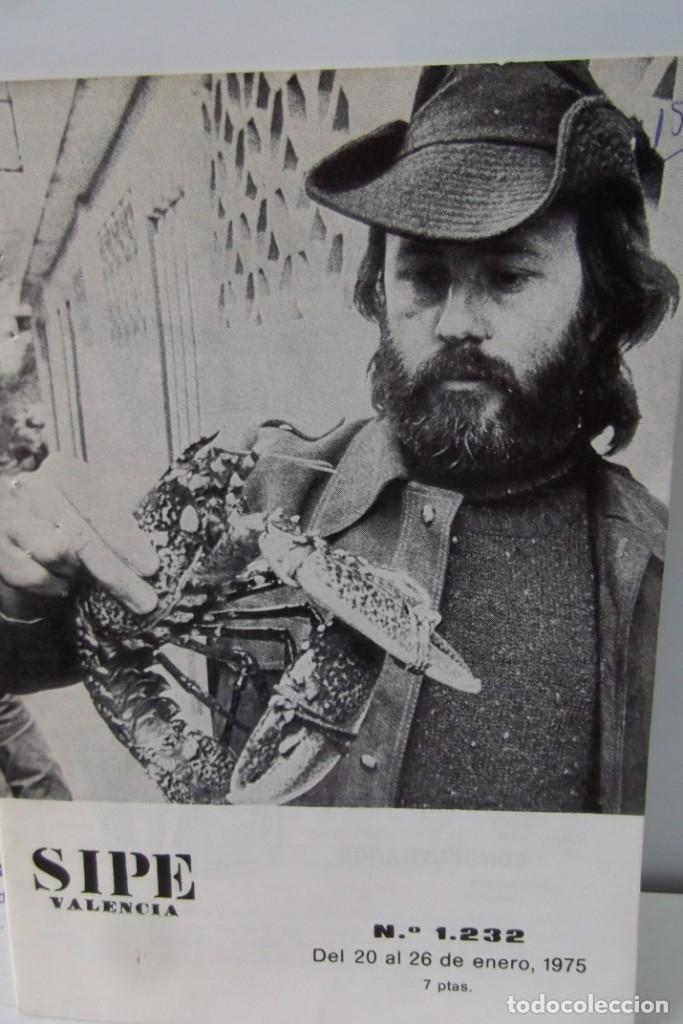 Cine: # EL CINE # CARTELERAS TURIA Y SIPE # AÑOS 1974 - 75 - 1976 # - Foto 5 - 177639022