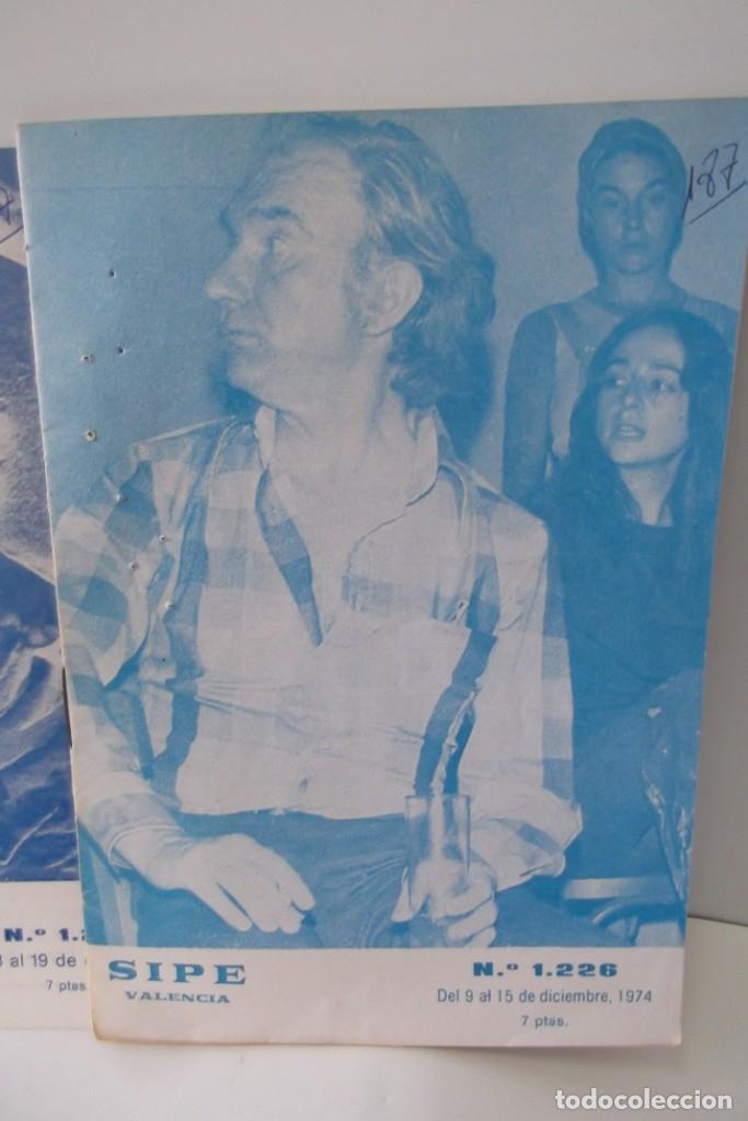 Cine: # EL CINE # CARTELERAS TURIA Y SIPE # AÑOS 1974 - 75 - 1976 # - Foto 7 - 177639022