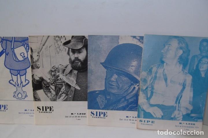 Cine: # EL CINE # CARTELERAS TURIA Y SIPE # AÑOS 1974 - 75 - 1976 # - Foto 8 - 177639022