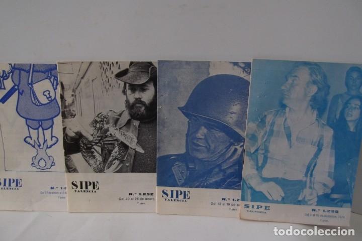Cine: # EL CINE # CARTELERAS TURIA Y SIPE # AÑOS 1974 - 75 - 1976 # - Foto 9 - 177639022