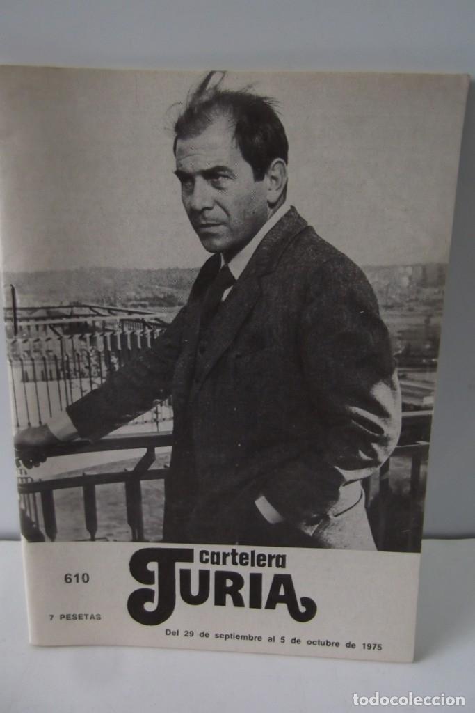 Cine: # EL CINE # CARTELERAS TURIA Y SIPE # AÑOS 1974 - 75 - 1976 # - Foto 10 - 177639022