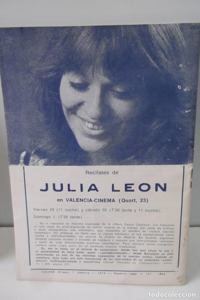 Cine: # EL CINE # CARTELERAS TURIA Y SIPE # AÑOS 1974 - 75 - 1976 # - Foto 11 - 177639022