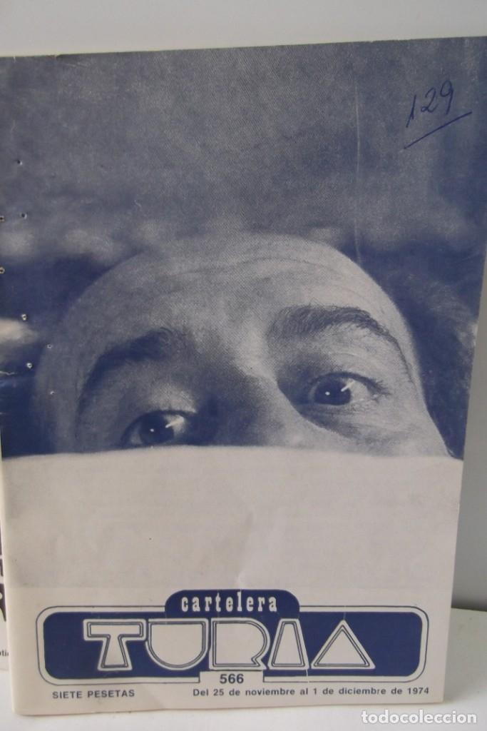 Cine: # EL CINE # CARTELERAS TURIA Y SIPE # AÑOS 1974 - 75 - 1976 # - Foto 12 - 177639022