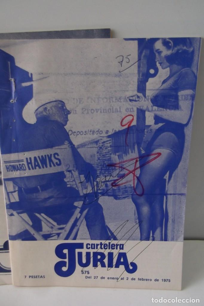 Cine: # EL CINE # CARTELERAS TURIA Y SIPE # AÑOS 1974 - 75 - 1976 # - Foto 13 - 177639022