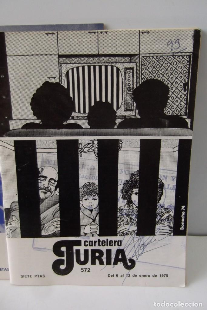 Cine: # EL CINE # CARTELERAS TURIA Y SIPE # AÑOS 1974 - 75 - 1976 # - Foto 14 - 177639022